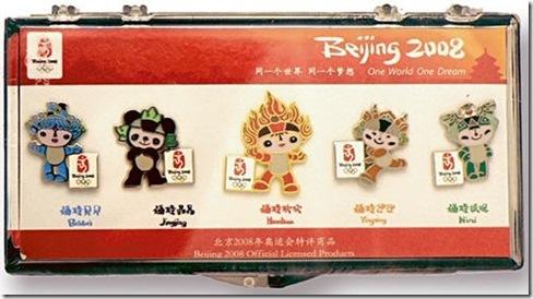 beijing mascot pins