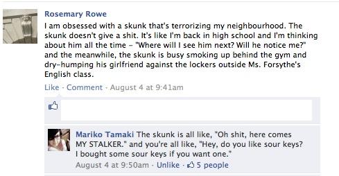 Skunk post