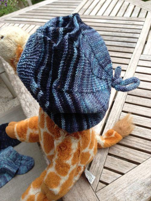 Sock Yarn Beret by Corinne Fourcade